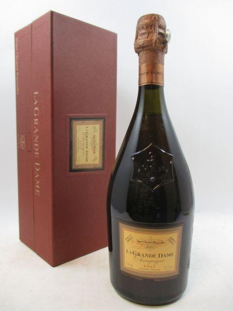 1 bouteille CHAMPAGNE VEUVE CLICQUOT 1995 La Grande Dame Rosé (cave 3)