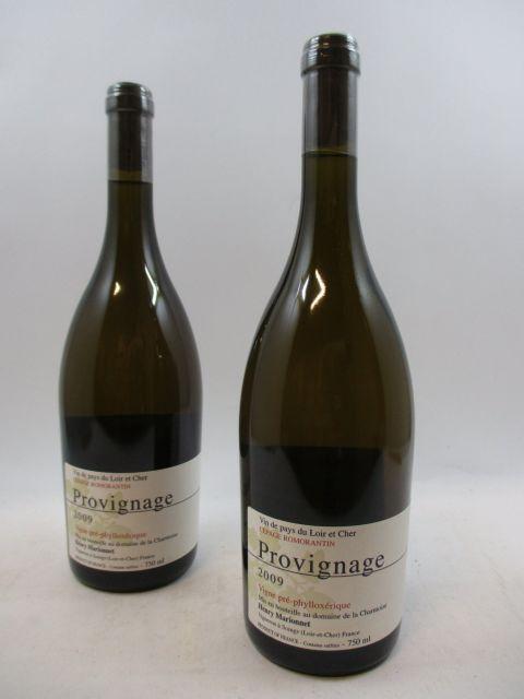 12 bouteilles ROMORANTIN 2009 Provignage
