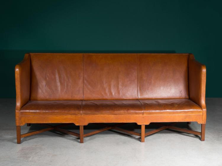 kaare klint 1888 1954 canap 1929 pi tement en ac. Black Bedroom Furniture Sets. Home Design Ideas