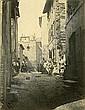 ¤Adolphe TERRIS 1820-1900 Rue des Trompeurs, Rénovation de la vielle ville de Marseille, 1862 Tirage sur papier albuminé monté sur ca.., Adolphe Terris, Click for value