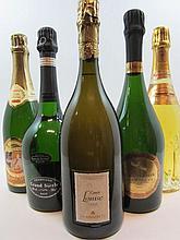 5 bouteilles 1 bt : CHAMPAGNE MUMM 1998 Cuvée R.Lalou