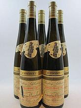 5 bouteilles ALSACE RIESLING 1998 L'inedit