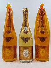 6 bouteilles CHAMPAGNE CRISTAL ROEDERER 2000