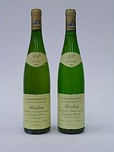 12 bouteilles 10 bts : ALSACE RIESLING 1996 GC Schoenenbourg (VT) F. Lehmann