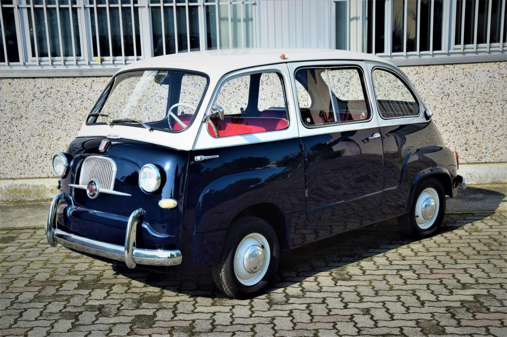 1956 fiat 600 multipla 4 5 places no reserve. Black Bedroom Furniture Sets. Home Design Ideas