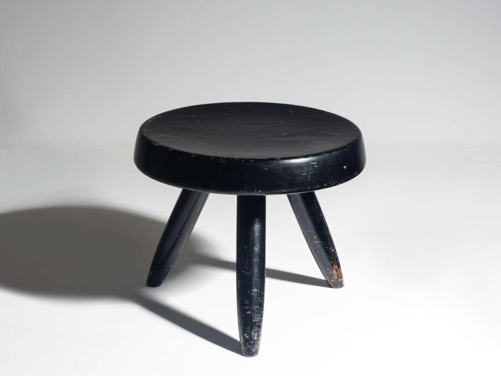 Charlotte Perriand 1903 1999 Tabouret Bas Dit Berger C