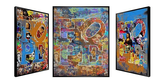 Patrick RUBINSTEIN Né en 1960 HOPE N' ART - 2014