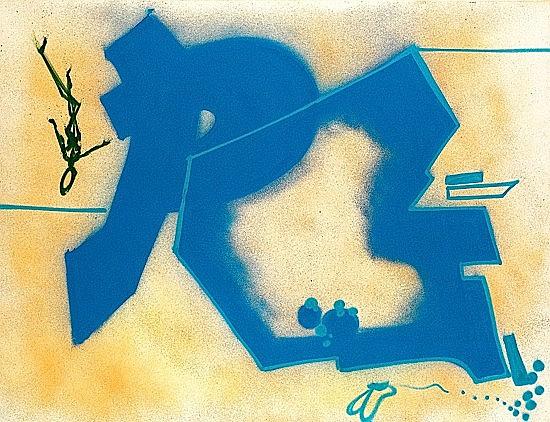 DONDI WHITE (Donald J. White dit) (1961 - 1998) SANS TITRE, 1983 Bombe aérosol sur toile...