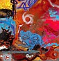 SHUCK ONE (né en 1970 -) ORGANES SCIENTIFIC'S, 2001 Acrylique et bombe aérosol sur toile..., Shuck One, Click for value