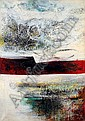 Hisiao DOMOTO (né en 1928) INSTANTANEITE, 1962 Huile sur toile, Hisao Dōmoto, Click for value
