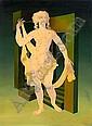 Jules PERAHIM (1914-2008) LES GRAINS DE BEAUTE, 1971 Huile sur toile, Jules Perahim, Click for value