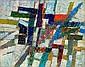 Jacques GERMAIN (1915-2001) COMPOSITION, 1954 Huile sur toile, Jacques (1915) Germain, Click for value