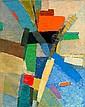 Jacques GERMAIN (1915-2001) COMPOSITION, CIRCA 1954-55 Huile sur toile, Jacques (1915) Germain, Click for value