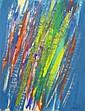 Claude BELLEGARDE (né en 1927) COMPOSITION Un lot de 3 gouaches sur papier, Claude Bellegarde, Click for value