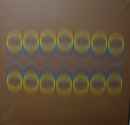 Romano ZANOTTI (né en 1934) COMPOSITION, 1975 Acrylique sur toile