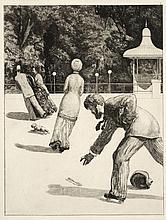 MAX KLINGER (1857-1920) Opus VI, Ein Handschuh - 1881 Suite de 10 eaux-fortes