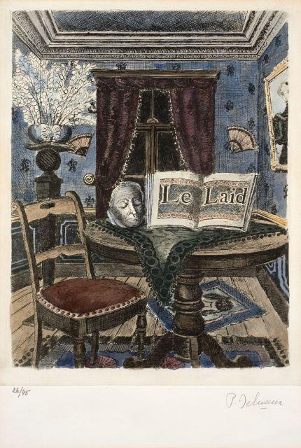Paul delvaux antheit 1897 furnes 1994 le pays des miroi for Miroi log in