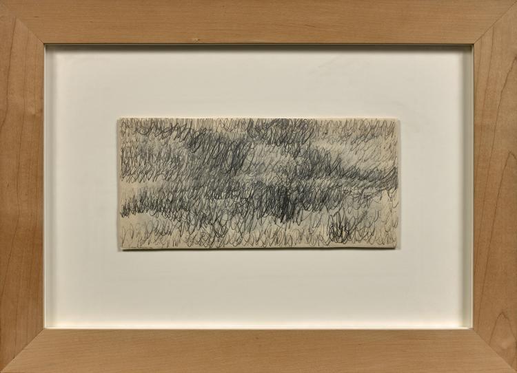 Marc COUTURIER (Né en 1946) SANS TITRE - 1994 Mine de plomb sur papier