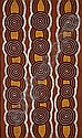 ¤Tjupurrula Turkey TOLSON (Pintupi) (Circa 1943 - 2001) TINGARI CYCLE AT PULITJILKA, 1996 Acrylic on belgian linen, Turkey Tolson  Tjupurrula , Click for value
