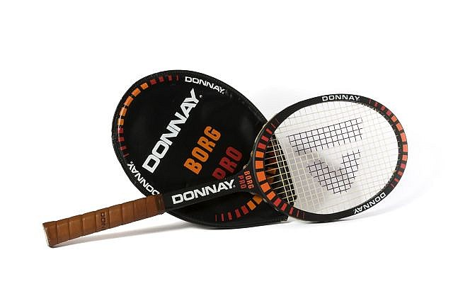 donnay borg pro raquette de tennis 1979. Black Bedroom Furniture Sets. Home Design Ideas
