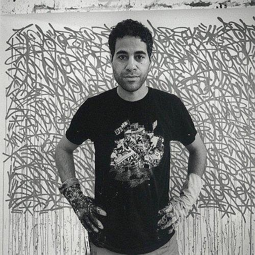 Philippe BONAN (né en 1968) PORTRAIT DE JONONE, 2008 Tirage argentique noir et blanc contrecollé sur aluminium