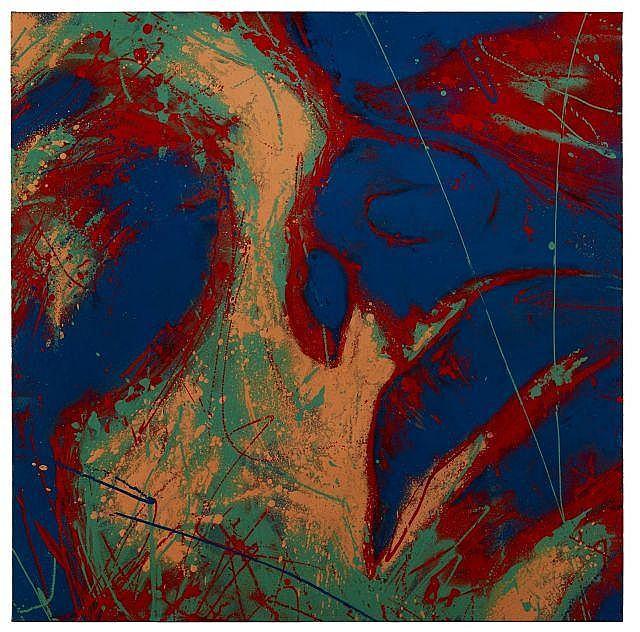 David WALKER Anglais - Né en 1976 CAN POP 1 - 2012 Peinture aérosol et acrylique sur toile