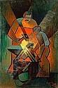 Louis TOFFOLI (né en 1907) LES FORGERONS, 1953 Huile sur toile, Louis Toffoli, Click for value