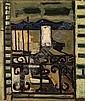 Raymond GUERRIER (Né en 1920) LE PHARE BLANC Huile sur toile, Raymond Guerrier, Click for value