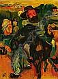 Henri EPSTEIN (1892-1944) SCENE PASTORALE, circa 1920 Huile sur toile, Henri Epstein, Click for value