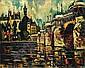 Pierre DUMONT (1884-1936) PARIS, LE PONT-NEUF, circa 1914 Huile sur toile, Pierre (1884) Dumont, Click for value