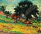 Michel KIKOINE (1892-1968) LE NOYER D'ANNAY SUR SEREIN, circa 1934-1935 Huile sur toile, Michel Kikoïne, Click for value