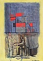 André BEAUDIN (1895-1979) L'HOMME SEUL, 1957 Huile sur toile, Andre Beaudin, Click for value