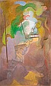André BEAUDIN (1895-1979) LA MAISON BLEUE, 1929 Huile sur toile, Andre Beaudin, Click for value