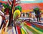 Isaac PAILES (1895-1978) VUE DE PARIS Huile sur toile, Isaac Pailes, Click for value