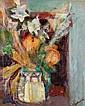 Lazare VOLOVICK (1902-1977) ARUMS ET PIVOINES Huile sur toile, Lazare Volovick, Click for value
