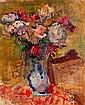 Zygmund SCHRETER (1886-1977) BOUQUET DE FLEURS Huile sur panneau, Zygmund Schreter, Click for value
