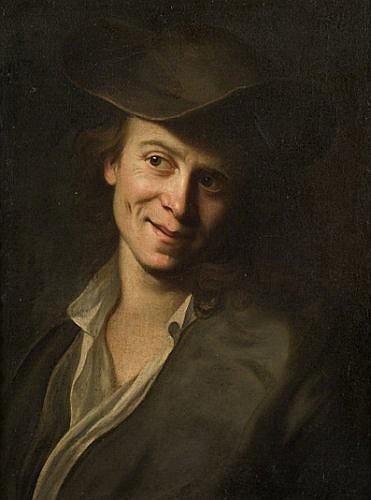 Christian Seybold Mayence 1690/97 - Vienne 1768 Portrait de jeune homme Toile