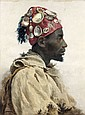 José TAPIRO Y BARO (Reus, 1836 - Tanger, 1913) Pêcheur marocain