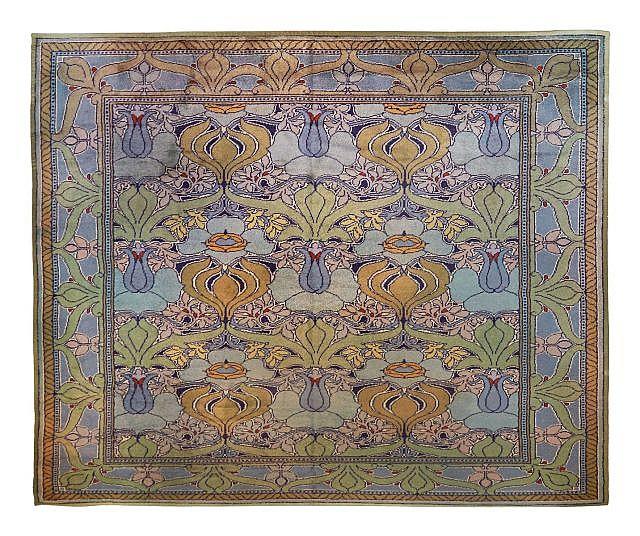 charles francis annesley voysey 1857 1941 grand tapis re. Black Bedroom Furniture Sets. Home Design Ideas