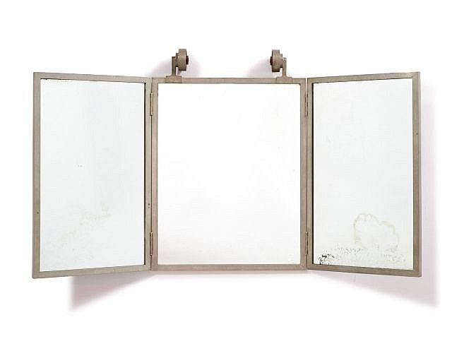 travail fran ais 1930 1940 miroir triptyque clairant