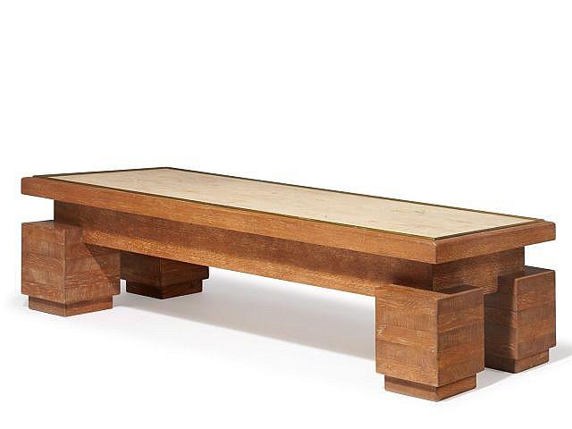 paul dupr lafon 1900 1971 table basse circa 1930. Black Bedroom Furniture Sets. Home Design Ideas