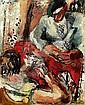 GEN PAUL (1895-1975) LA PARTIE DE CARTES, circa 1925-1928 Huile sur toile,  Gen-Paul, Click for value