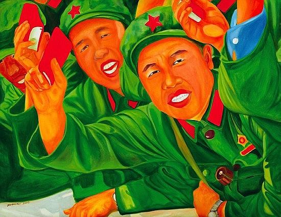 ZHANG HUI (Né en 1969) SANS TITRE, 2003 Huile sur toile