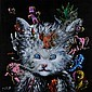 Patrick MOYA () UN CHAT PLEIN Acrylique sur toile, Patrick Moya, Click for value