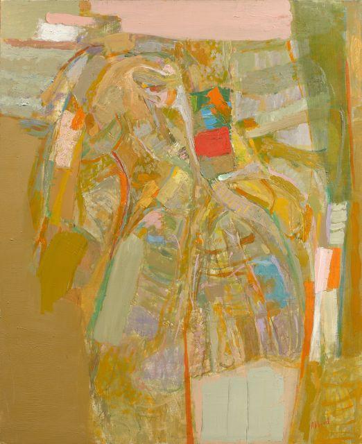 Shafic ABBOUD 1926 - 2004 La Psy - 1981 Huile sur toile