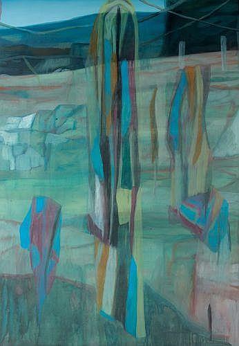 Marc DESGRANDCHAMPS (né en 1960) SANS TITRE, 1988 Huile sur toile