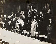 MAN RAY (1890-1976) Au Cabaret du Ciel - 1927 Épreuve argentique d''époque (c. 1930)