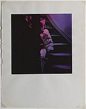 Hans BELLMER 1902 - 1975 Les jeux de la poupée - 1938-1949 Épreuve argentique d''époque coloriée à l''aniline et contrecollée sur cart.