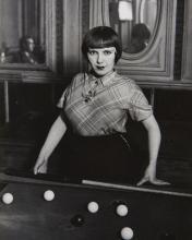 Gyala Halász, dit BRASSAÏ (1899 - 1984) La Fille de Joie au Billard Russe, Montmartre - 1933 Épreuve argentique (c. 1970)