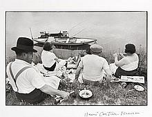 Henri CARTIER-BRESSON (1908-2004) Dimanche sur les bords de Marne, Juvisy - 1938 Épreuve argentique (c. 1990)